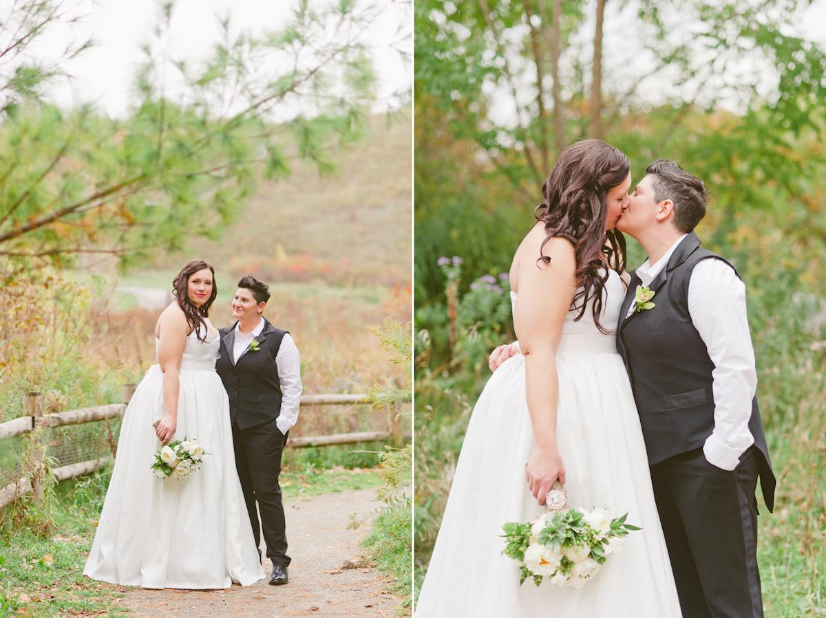 toronto wedding photographer lesbian wedding toronto queer wedding photography toronto estates of sunnybrook wedding same sex wedding photography toronto-11