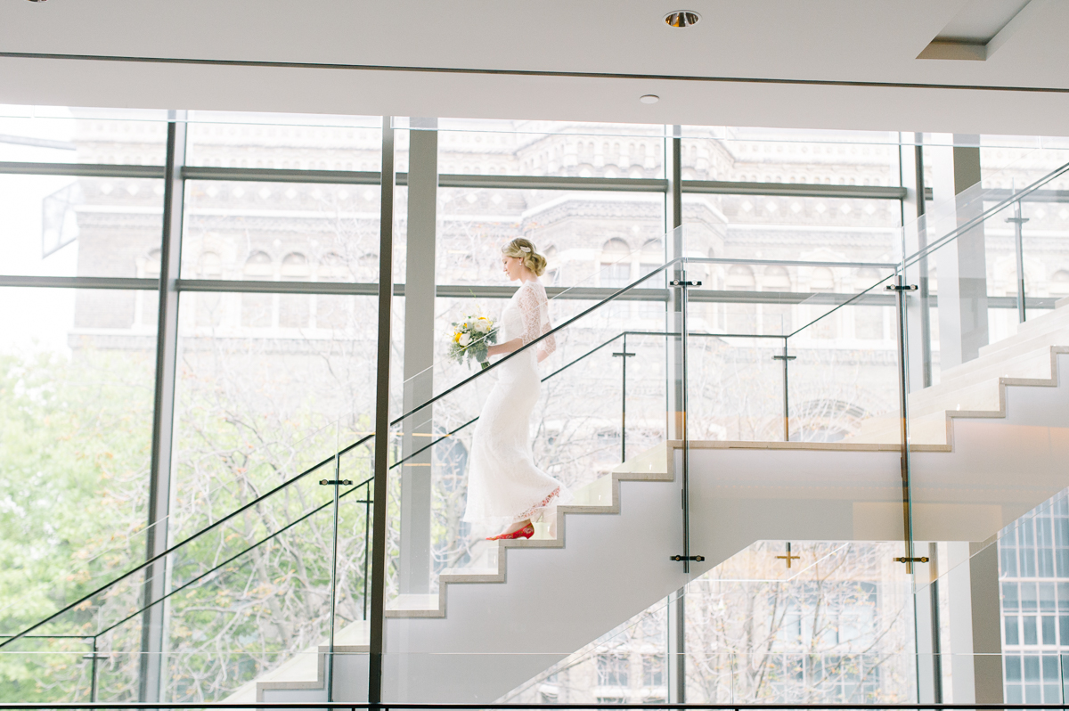 tara mcmullen photography toronto wedding photographer associate photographer barb simkova RCM wedding photos karina lemke royal conservatory of music wedding knox collge wedding yellow and white wedding natural wedding photography toronto-042